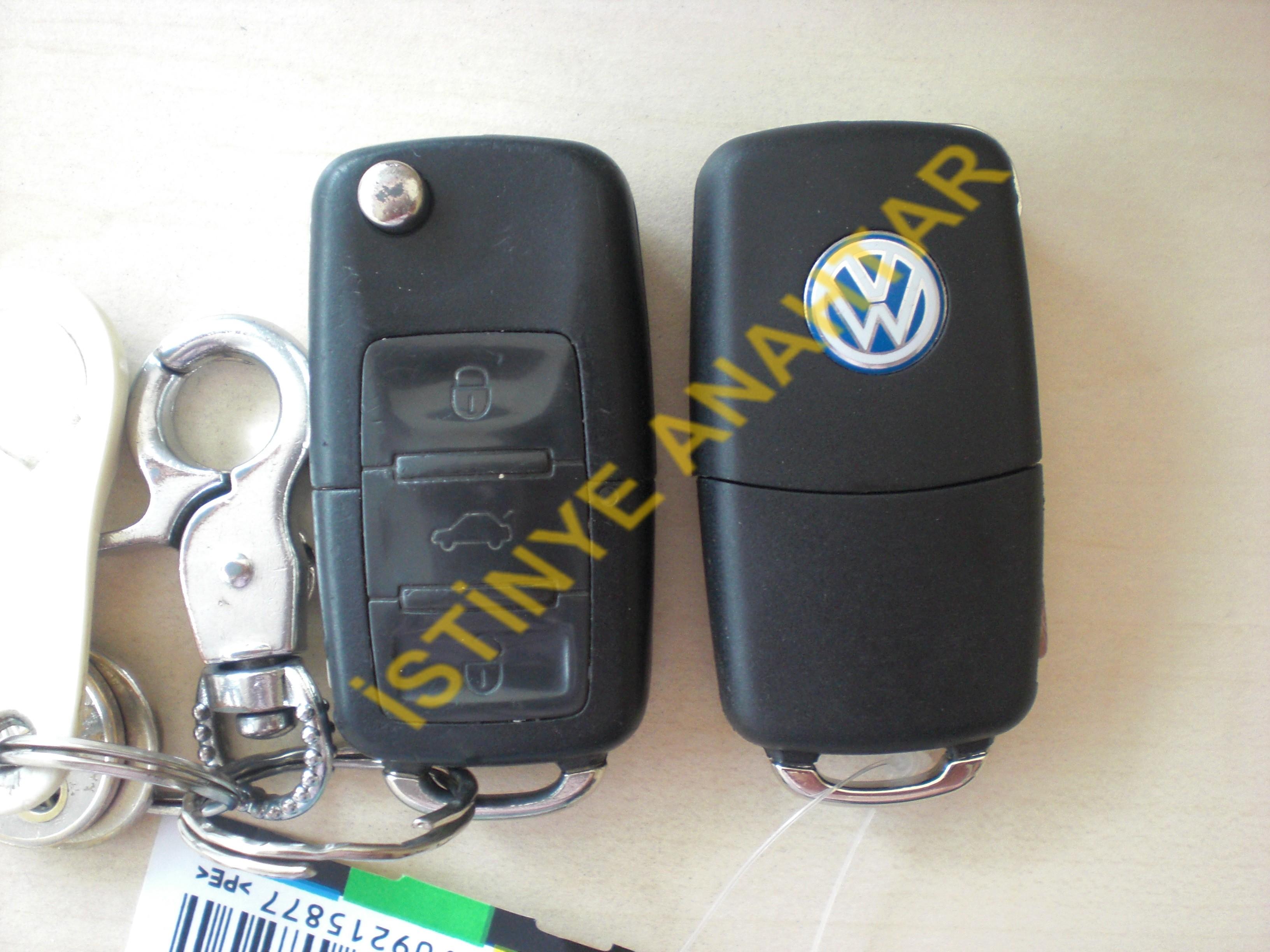 volkswagen caddy yedek anahtarı | oto anahtari | İmmobilizer sistem