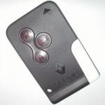renault scenic kartlı anahtar