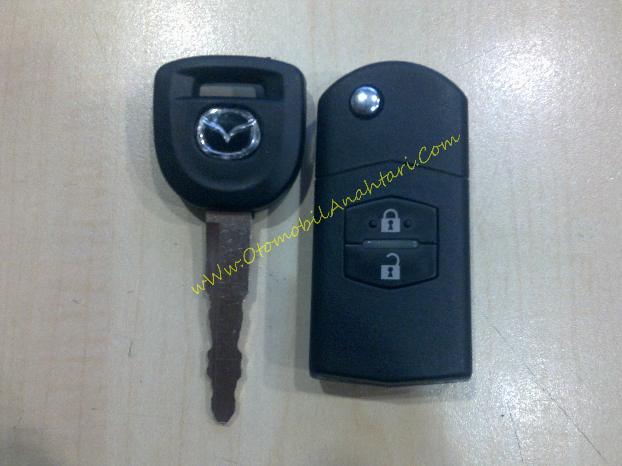 mazda anahtari | oto anahtari | İmmobilizer sistem