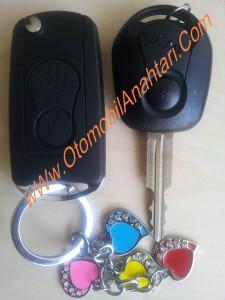 ssangyong sustalı anahtar