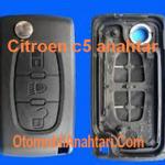 Citroen C5 anahtar ve dış kabı