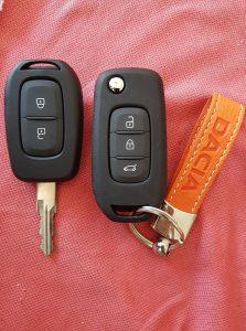 yeni Dacia duster sustali anahtar