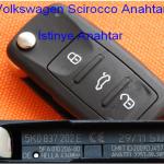 Volkswagen Scirocco Anahtar